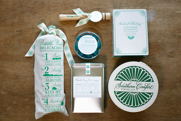 Beach Wedding Gift Bag Ideas: Deborah Nadel. Gallery. Event Calligraphy